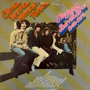 Flying Burrito Bros (The) ‎- Close Up The Honky Tonks (LP) (VG-/G+)